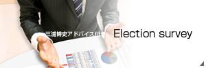 選挙調査のイメージ